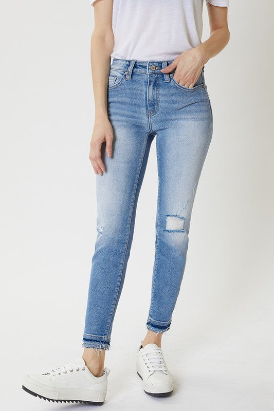 Buy High Rise Layered Skinny Jeans Medium online at Southern Fashion Boutique Bliss