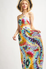 Buy Watercolor Floral Wool Dobby Maxi Dress Multi online at Southern Fashion Boutique Bliss