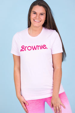 Brownies Do It Better Graphic Tee Soft Pink