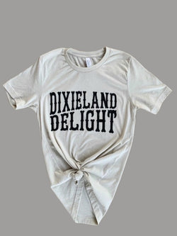 Buy Dixieland Delight Graphic Tee Grey online at Southern Fashion Boutique Bliss