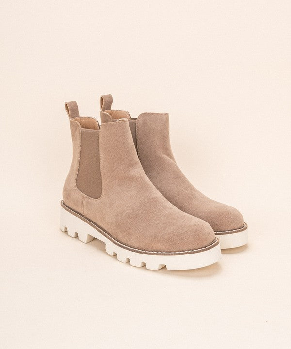 Buy Jessie Slip On Bootie Light Latte online at Southern Fashion Boutique Bliss