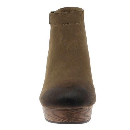 Pierre Dumas Ponce-1 Boots Taupe - Athens Georgia Women's Fashion Boutique