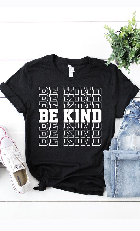 Buy Be Kind Graphic Tee Black online at Southern Fashion Boutique Bliss