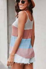 Buy Sleeveless Strapy Casual Tank Top Brick online at Southern Fashion Boutique Bliss
