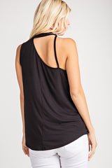 Buy Sleeveless Strap Detail Knit Top Black online at Southern Fashion Boutique Bliss