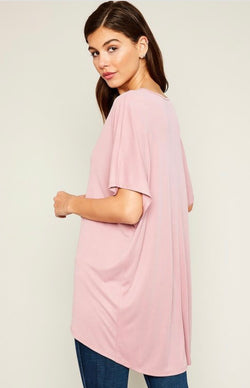 Buy Modal Soft Touch Flowy Tunic Pink online at Southern Fashion Boutique Bliss