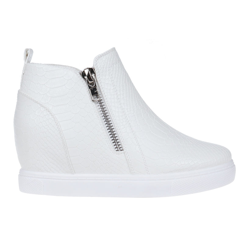 Buy Hidden Wedge Sneaker White online at Southern Fashion Boutique Bliss