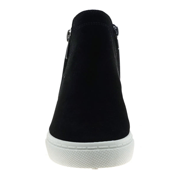Hidden Wedge Sneaker Black