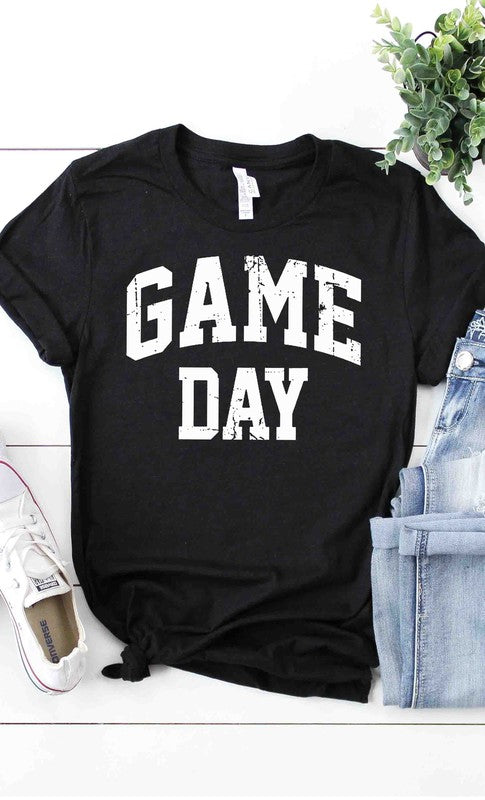 Game Day Graphic Tee Black