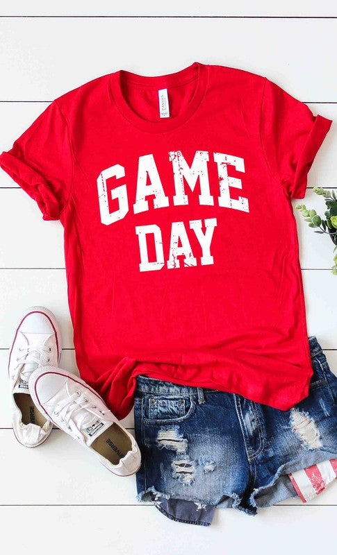 Buy Game Day Graphic Tee Red online at Southern Fashion Boutique Bliss