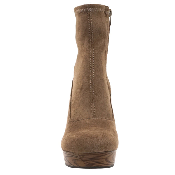 Buy Pierre Dumas Wedge Boot Taupe online at Southern Fashion Boutique Bliss