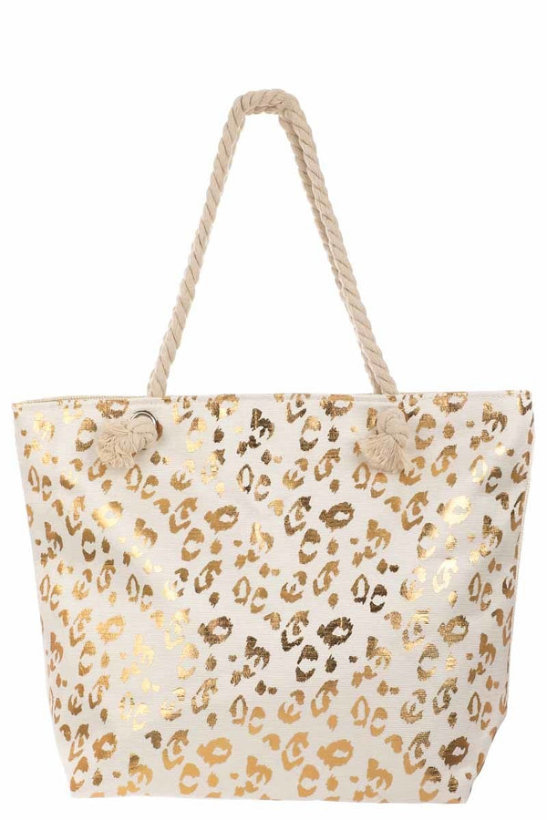 Buy Leopard Print Zipper Bag Gold online at Southern Fashion Boutique Bliss