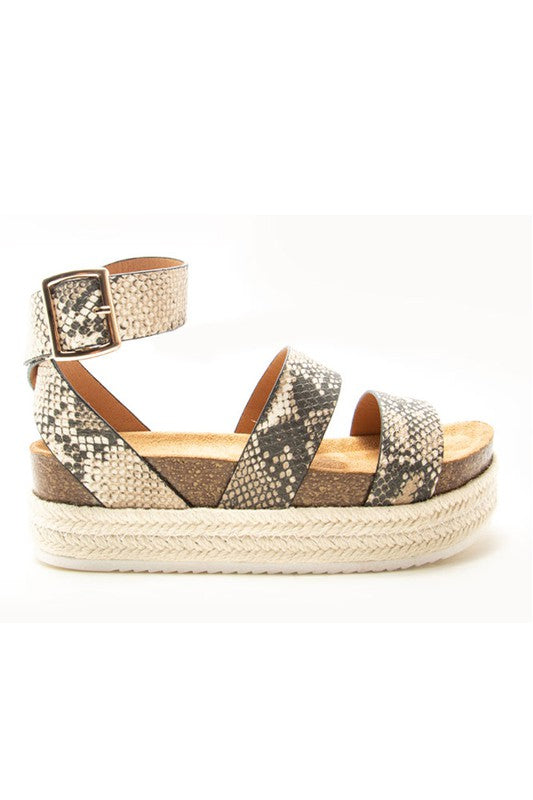 Buy Ccocci CABO Wedge Snake Pattern online at Southern Fashion Boutique Bliss