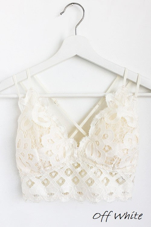 Cyber Monday Bralette Off White