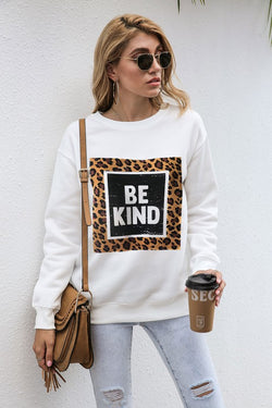 Buy Be kind sweatshirt White online at Southern Fashion Boutique Bliss