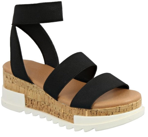Cork Platforms Black
