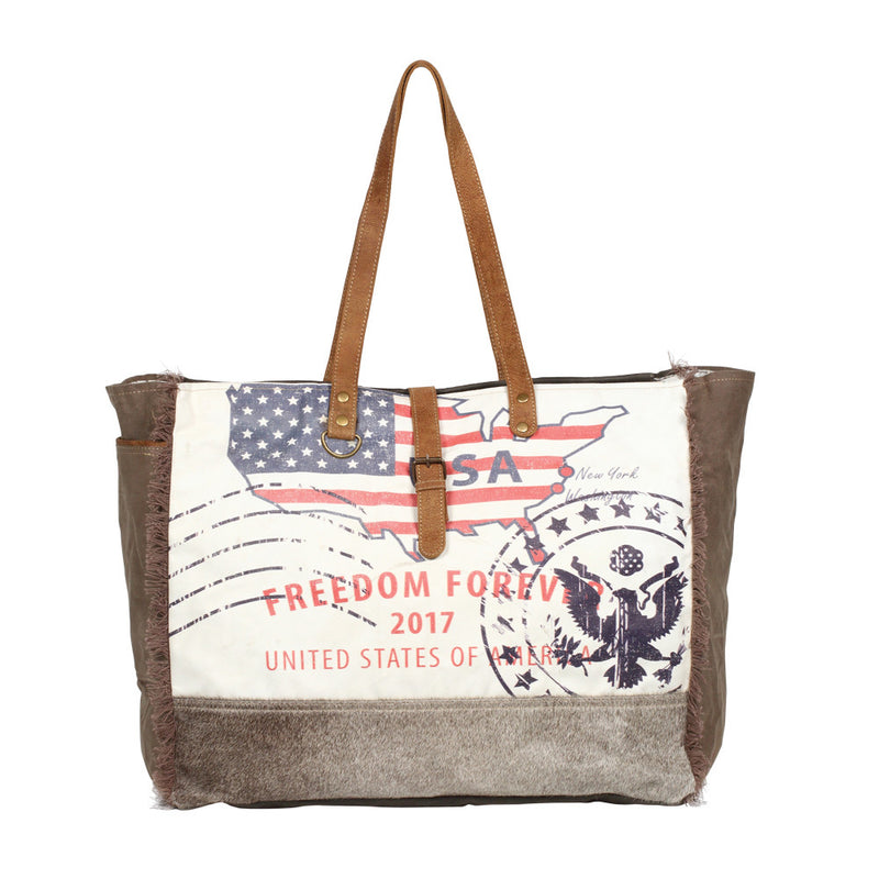 Buy Partisan Weekender Bag Brown online at Southern Fashion Boutique Bliss