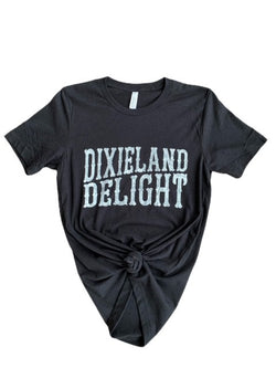 Dixieland Delight Graphic Tee Black