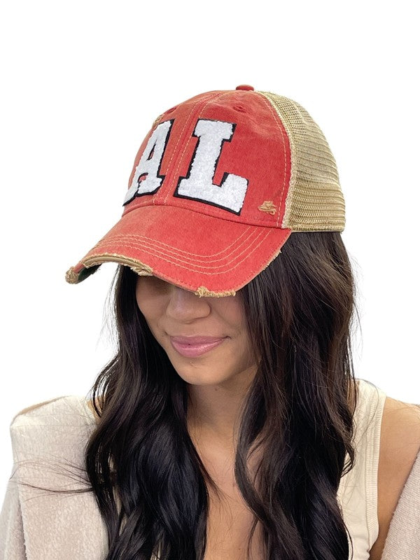 Alabama AL State Hat Cap
