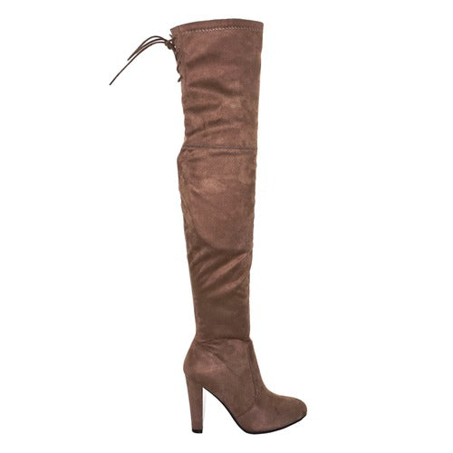 Buy Delci Boots by Pierre Dumas Taupe online at Southern Fashion Boutique Bliss