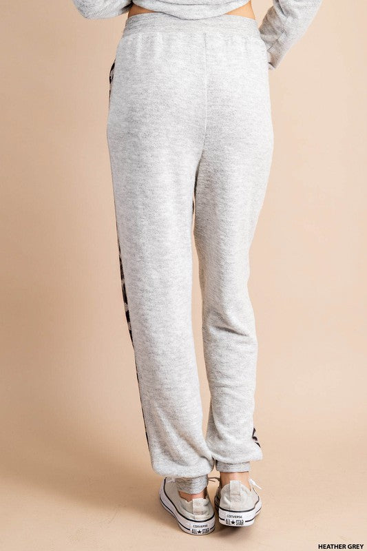Buy Animal Print Lounge Sweatpants Grey online at Southern Fashion Boutique Bliss
