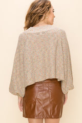 Buy Lurex Balloon Sleeve Sweater Cream online at Southern Fashion Boutique Bliss
