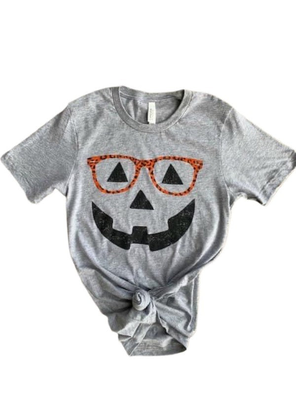 Smart Pumpkin Tee Grey