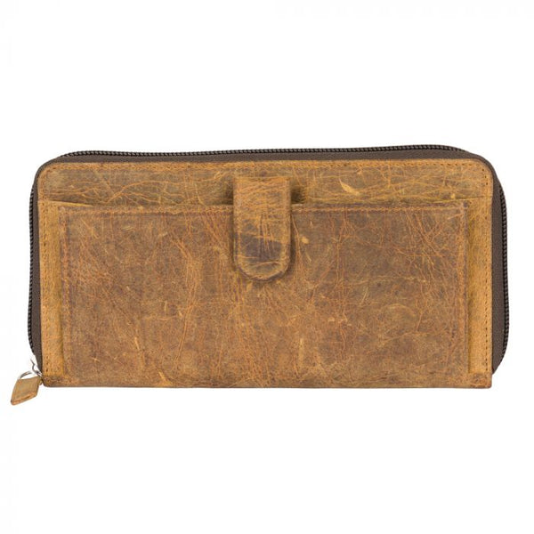 Buy Its All Brown Leather Wallet online at Southern Fashion Boutique Bliss