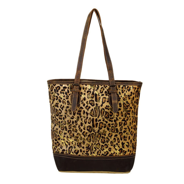 Buy Barbarian Canvas and Hairon Bag Purse Leopard online at Southern Fashion Boutique Bliss