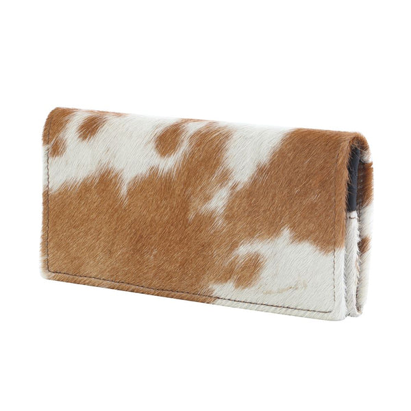 Cat Fight Leather & Harion Wallet