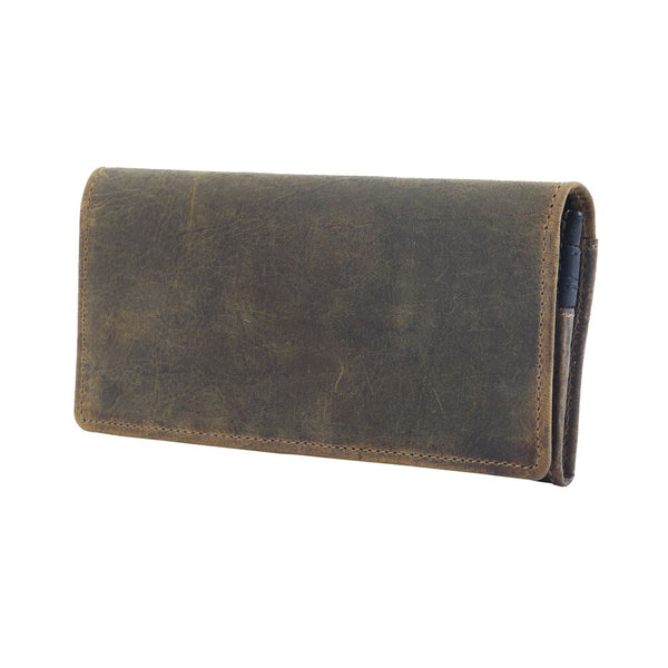 Woods Wanderer Leather & Harion Wallet