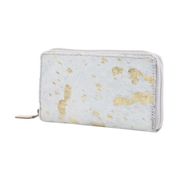 Buy Gold Desire Leather & Hairon Wallet online at Southern Fashion Boutique Bliss