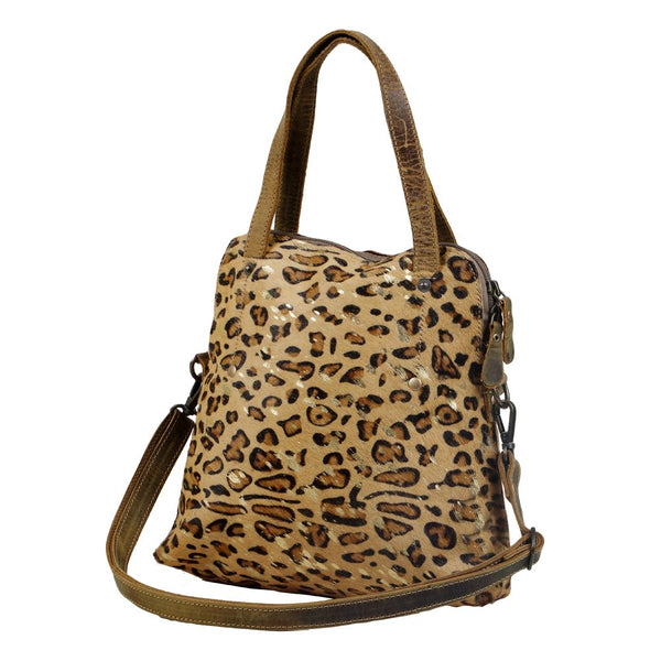 Party Delight Hairon Bag Purse Leopard