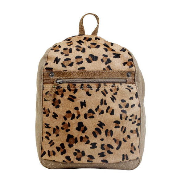 Buy Compete Canvas & Hairon Bag Backpack Leopard online at Southern Fashion Boutique Bliss