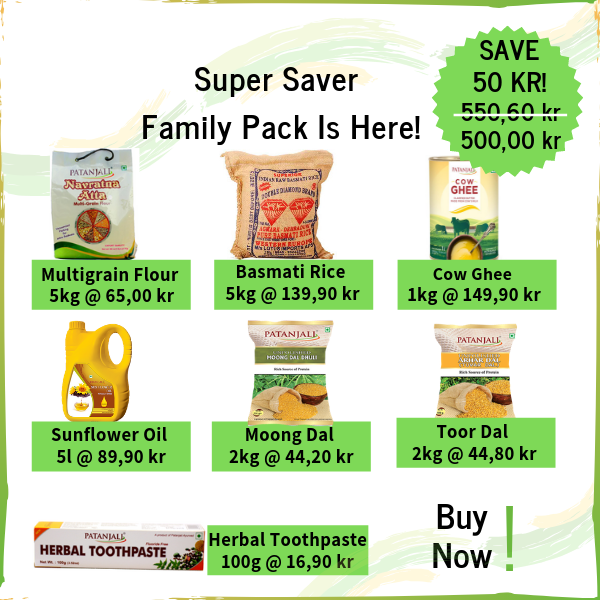 Super Saver Family Pack - 500 kr