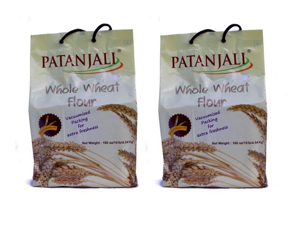 2 Packets of 4,54 Kg Whole Wheat Flour