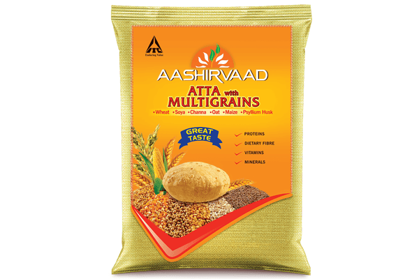 Aashirvaad Atta with Multigrains 10 Kg