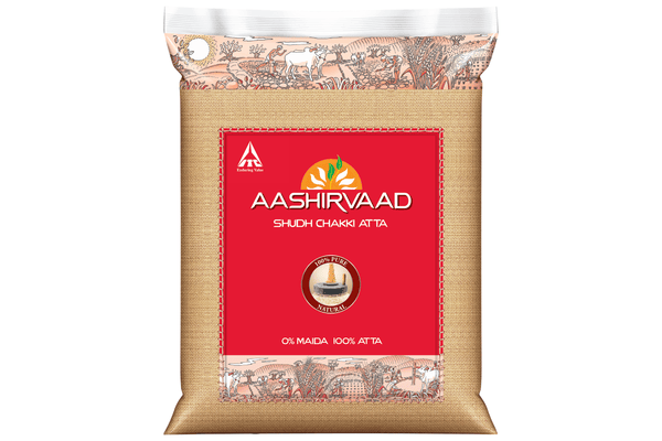 Aashirvaad Whole Wheat Atta 10 Kg