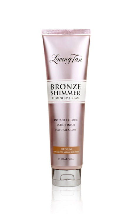 Loving Tan Bronze Shimmer Luminous Cream - MEDIUM 120ml