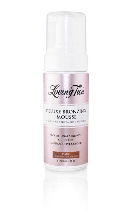 Loving Tan Deluxe Bronzing Self Tanning Mousse - DARK 120ml
