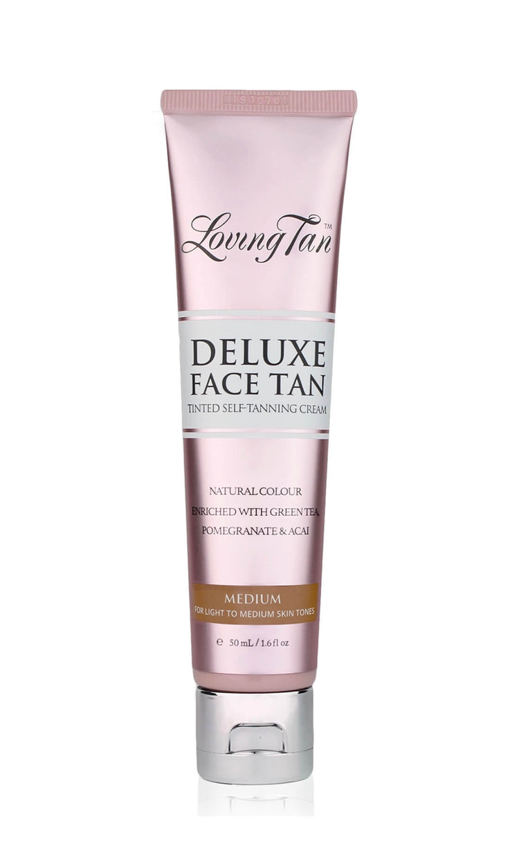 Loving Tan Deluxe Face Tan - Medium 50ml