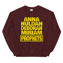 Load image into Gallery viewer, Bible Female Prophets Sweatshirt