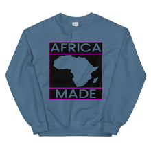 Load image into Gallery viewer, Africa Made (Purple) Sweatshirt