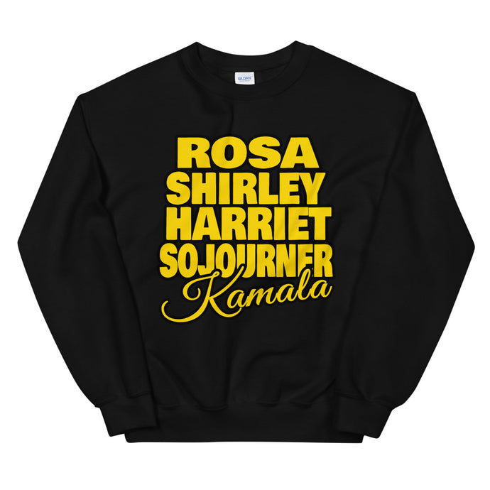 Black Female Power Sweatshirt