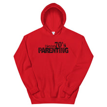Load image into Gallery viewer, I Survived 70's Parenting Hoodie