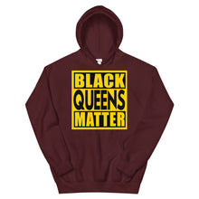 Load image into Gallery viewer, Black Queens Matter Hoodie
