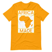 Load image into Gallery viewer, Africa Made (White & Gold)