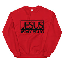 Load image into Gallery viewer, Jesus Is My Plug Sweatshirt