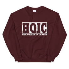 Load image into Gallery viewer, HQIC - Head Queen In Charge Sweatshirt