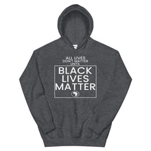 Load image into Gallery viewer, All Lives Don't Matter Until Black Lives Matter Hoodie